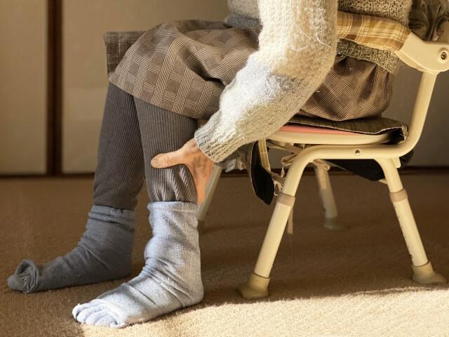 カタカタの靴下